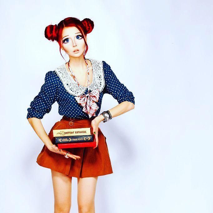 Новые фрики для подростков: живые куклы