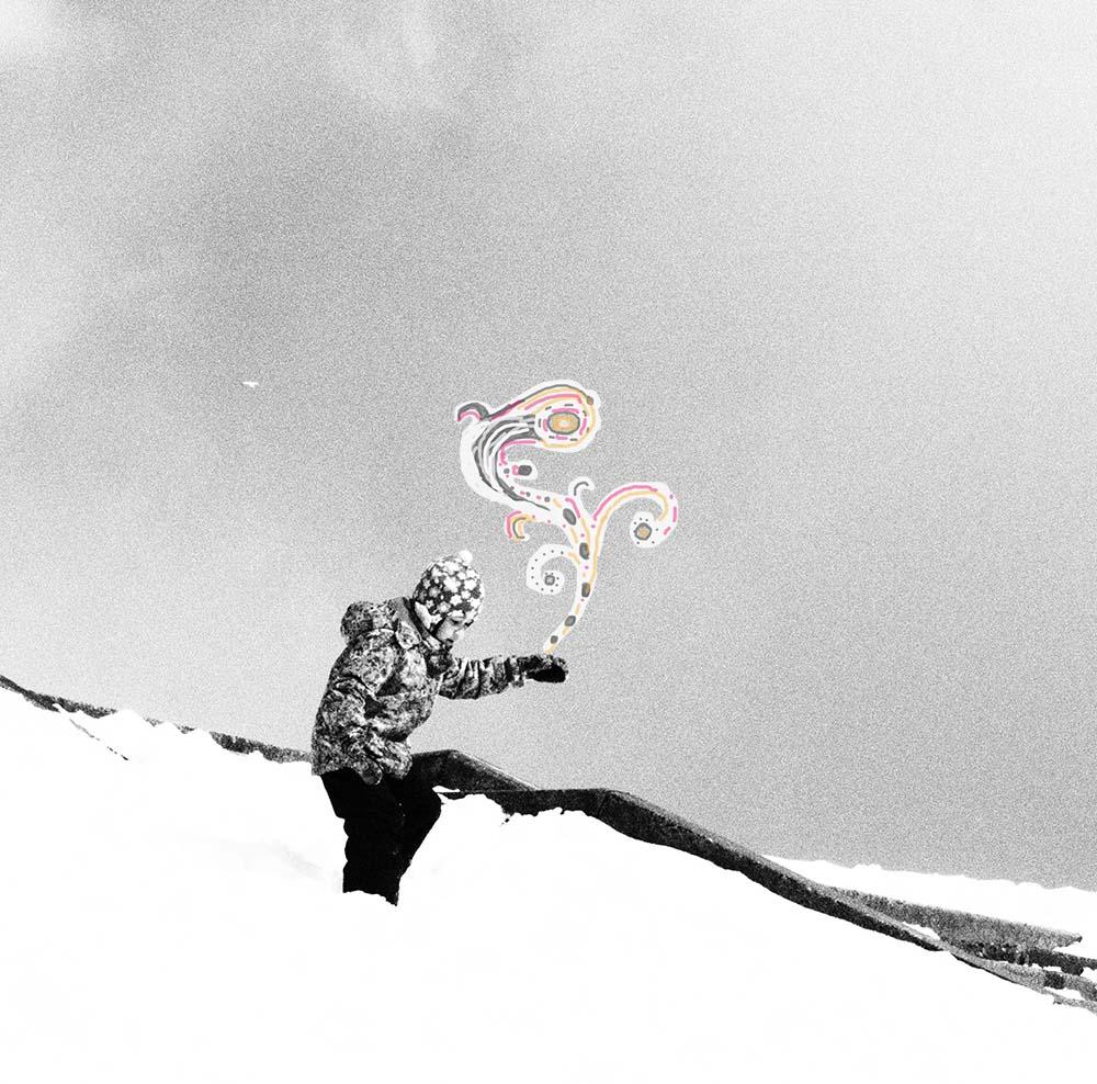 Выход в белое или апрельский снег радость детям