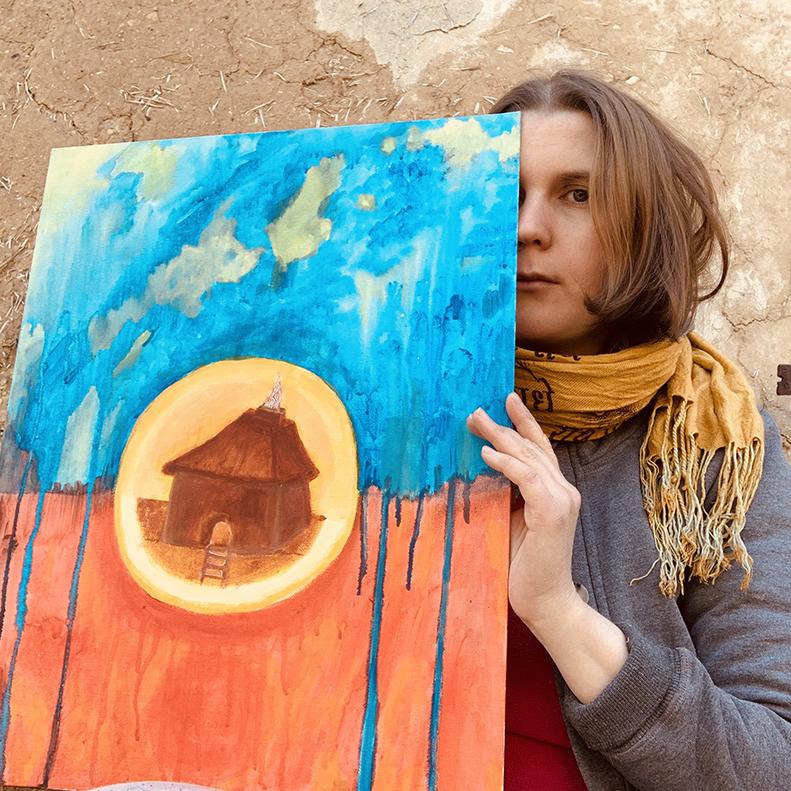 Творец и его творения картины, автопортретов, продаются, любовью, нежностью, вдохновением, парочка, картинами, Самое, Тепло, время, сфотографироваться, своими, Весна