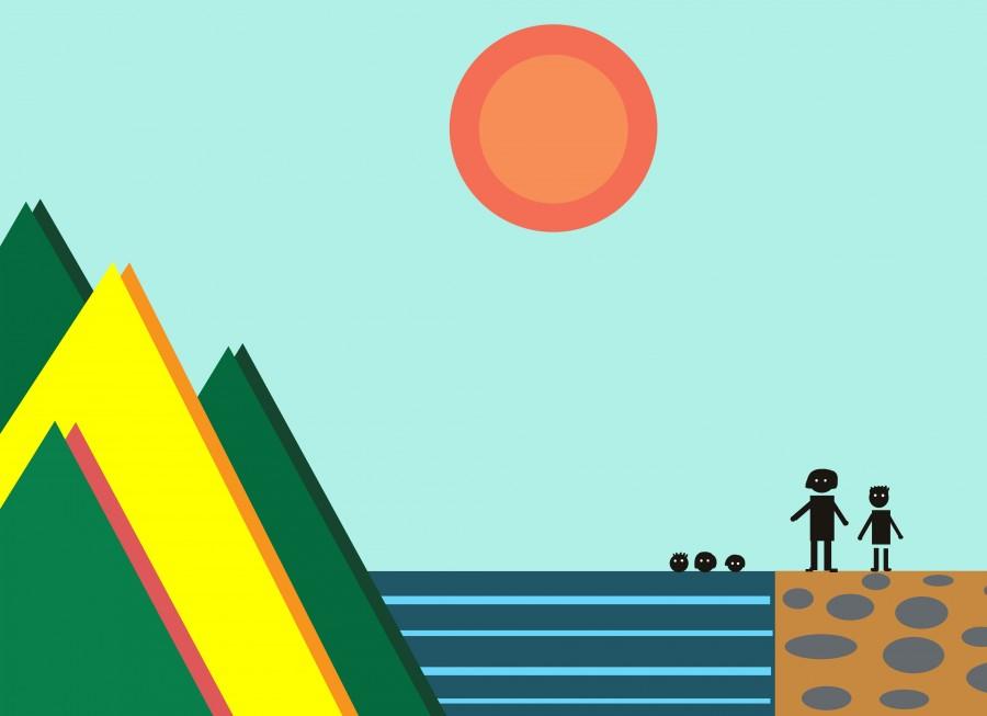 Суровый отдых с четырьмя детьми на Черном море