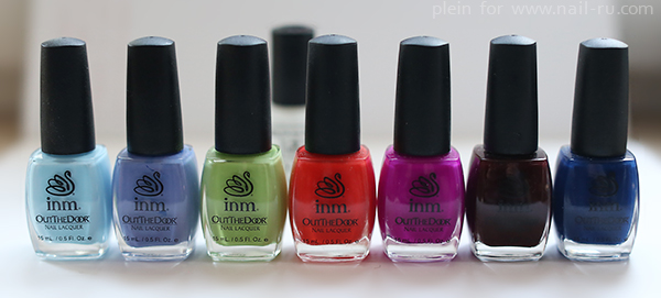 INM Blue Sky 195, Partido 226, Pistachio Ice Cream 153, The Bologna Peach 164, Daisy 159, Exciting Aroma 104, Sea Dreams 155