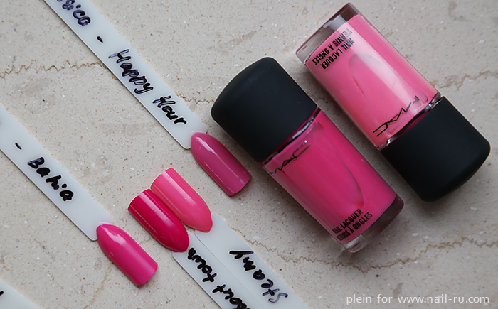 Dior-Bahia--MAC-Girl-About-town--MAC-Steamy--Jessica-Happr-Hour--plein-nailru