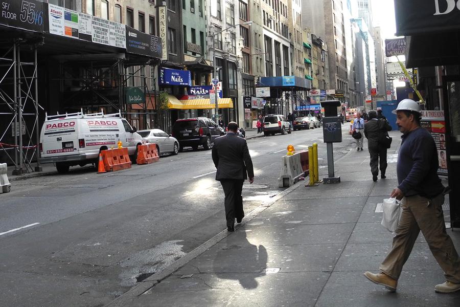 Солнце в Нью-Йорке