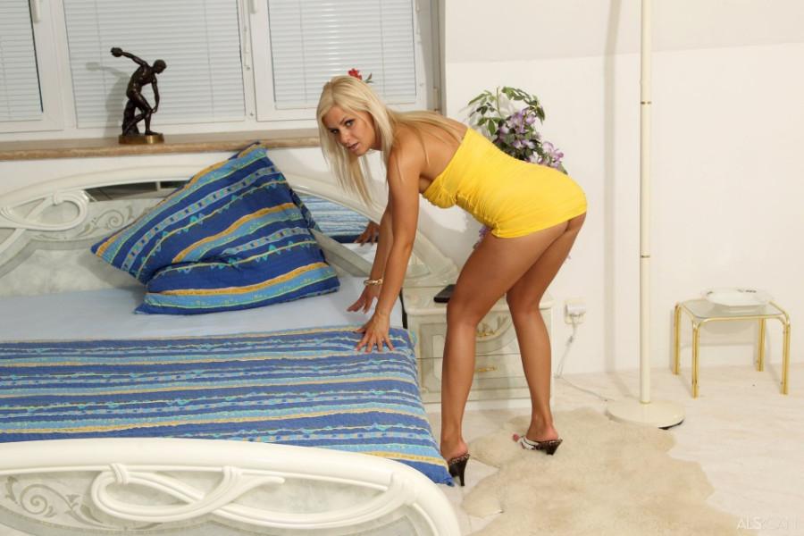 Стиль горяченькой блондинки Бриджит