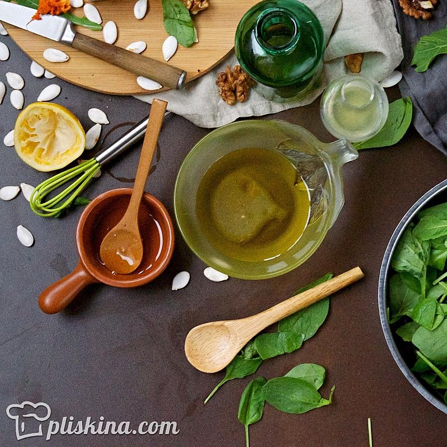 салат из тыквы рецепты с сыром и