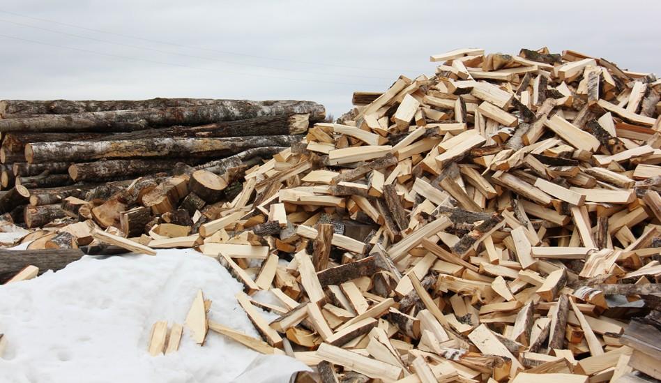 сколько дров уходит на зиму