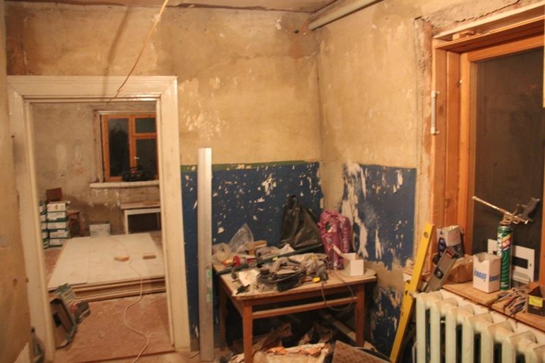 Ремонт в старом доме своими руками видео