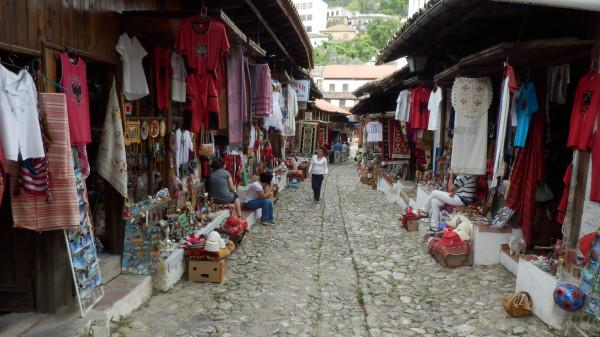 Улица с сувенирами