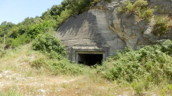 Бункер в скале