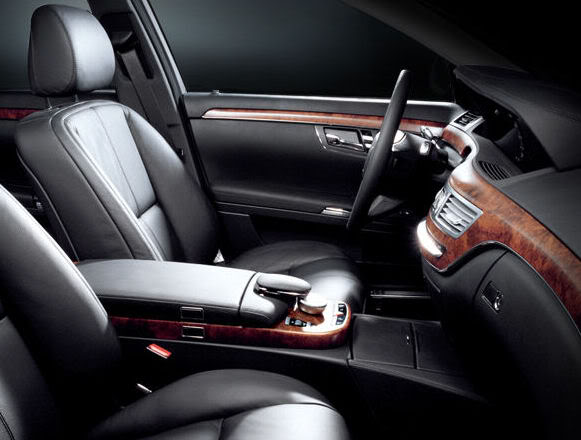 interior of Mercedes