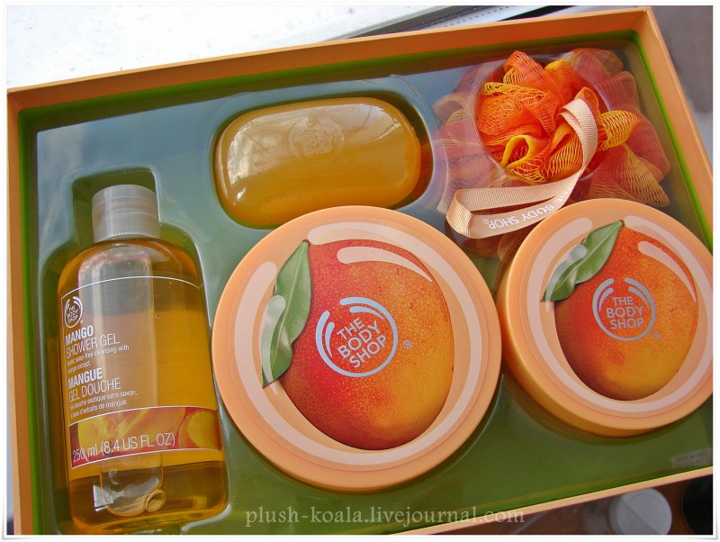 Самый вкусный манго: скраб и баттер для тела The Body Shop Mango - отзыв, DSC09682.JPG