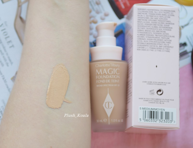 Charlotte Tilbury Magic Foundation - отзыв, макияж, фото до и после DSC_0334.JPG