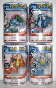 Mega Evolution Tomy Figures