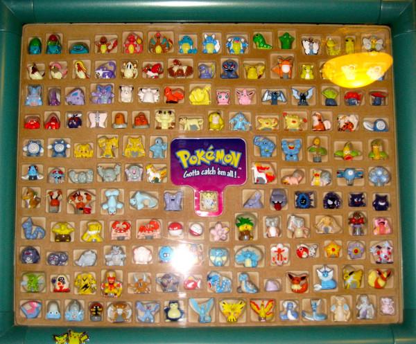 Framed Pokemon Figure