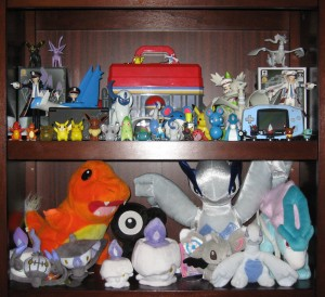 Pokemon plush and figures