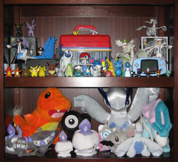 Pokemon plush and figures