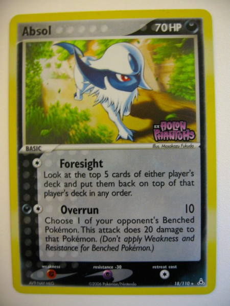 Special Absol TCG