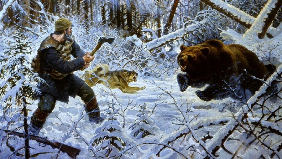медведь москва охота и рыбалка