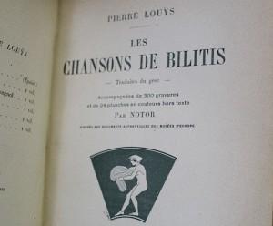 Les Chansons de Bilitis-Pierre Louÿs