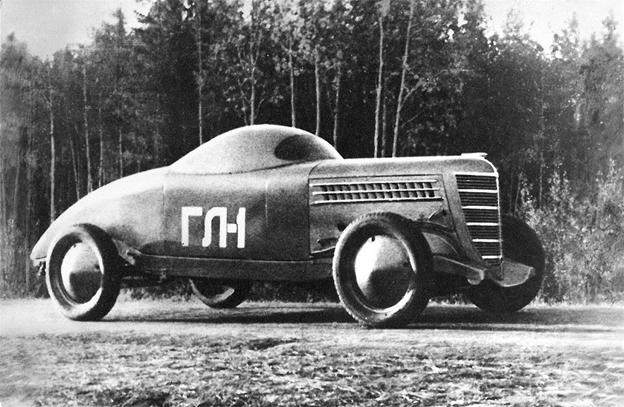 советские концепт кары