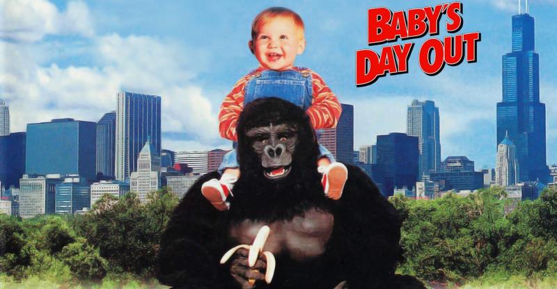 """2 фильма - «Младенец на прогулке или ползком от гангстеров.» (1994) и никак не относящийся к основному фильму (кроме идеи) и вообще отдельный фильм, но переведенный российскими дистрибьюторами """"Младенец на прогулке 2"""" (2001), тоже, кстати, хороший."""