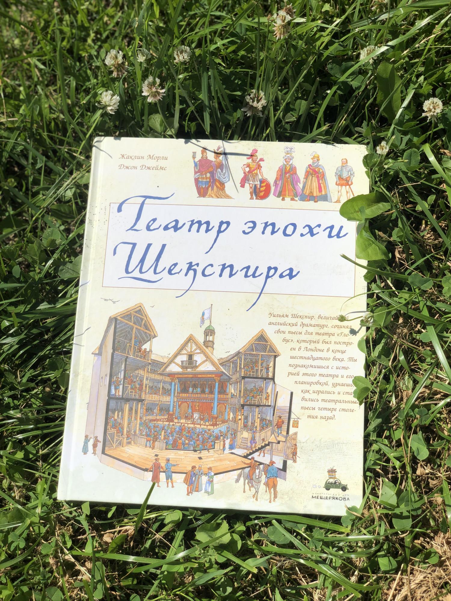 Ж.Морли и Д.Джеймс «Театр эпохи Шекспира», издательство Мещерякова 2019 .Возраст 6+.