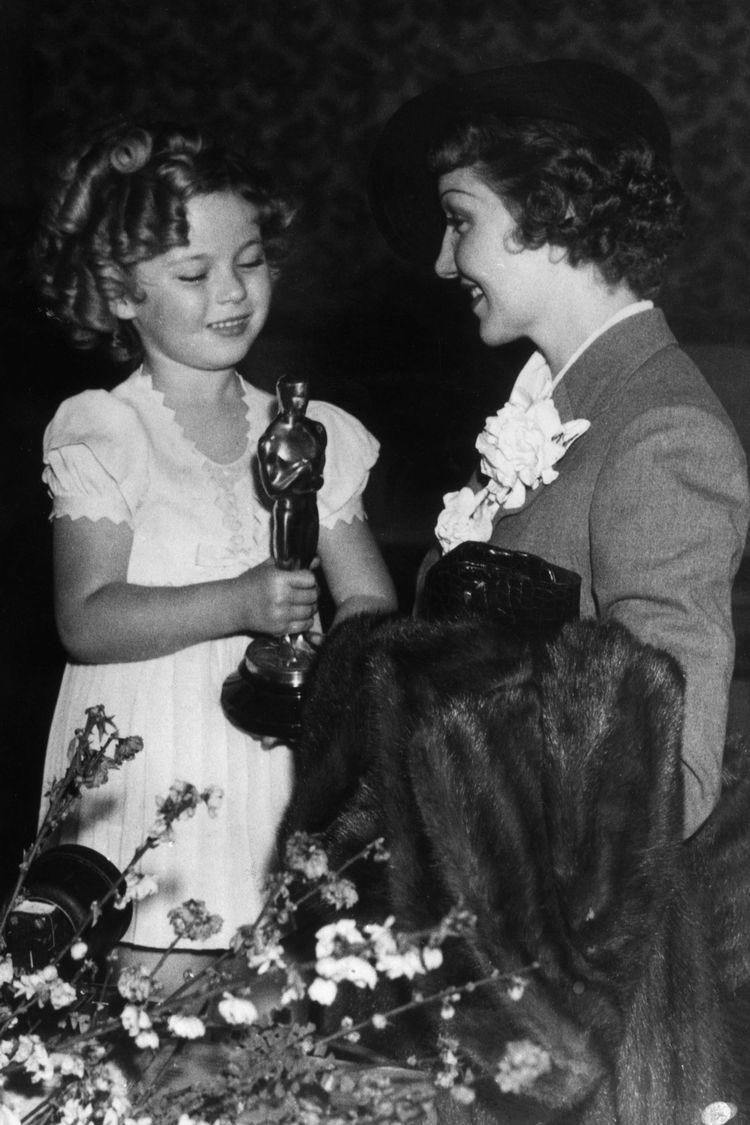 Ширли Темпл с Оскаром.