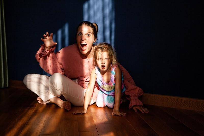 Держите тигров своих детей под контролем.