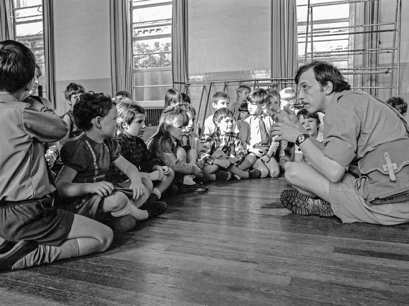 Школьный театр. 1960е.