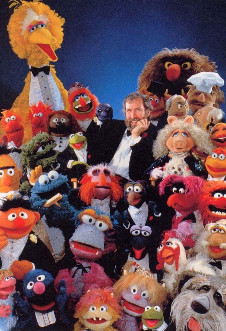 Джим Хэнсон и его создания.
