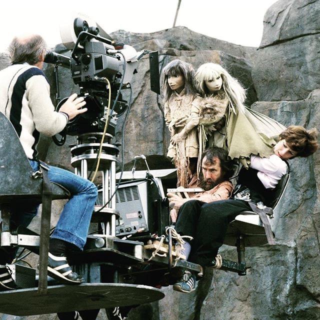 Кадр со съемок первого фильма.