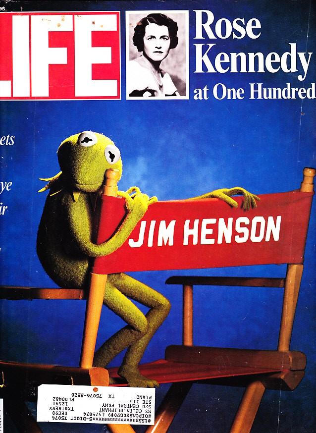 Обложка LIFE после смерти Хэнсона. 1990 год.