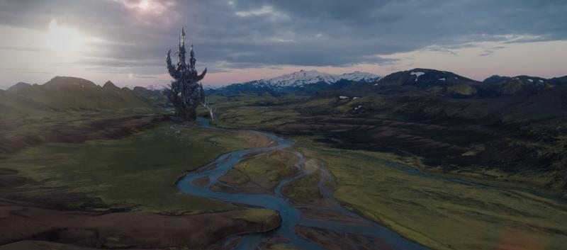 Прекрасный мир и башня Скексисов.