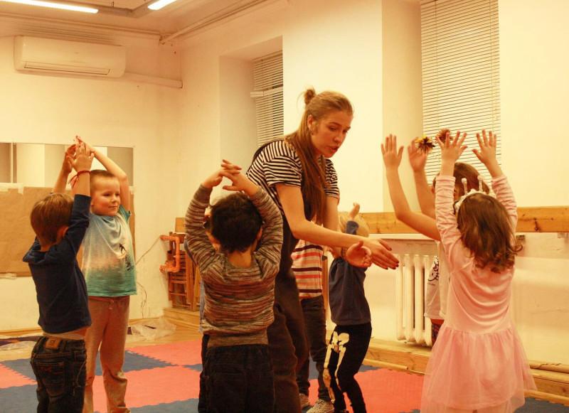 На одном из моих занятий. Режиссер и преподаватель: Мария Подковырова.