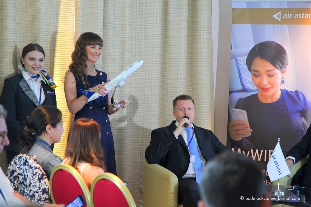 На новой высоте с авиакомпанией Air Astana