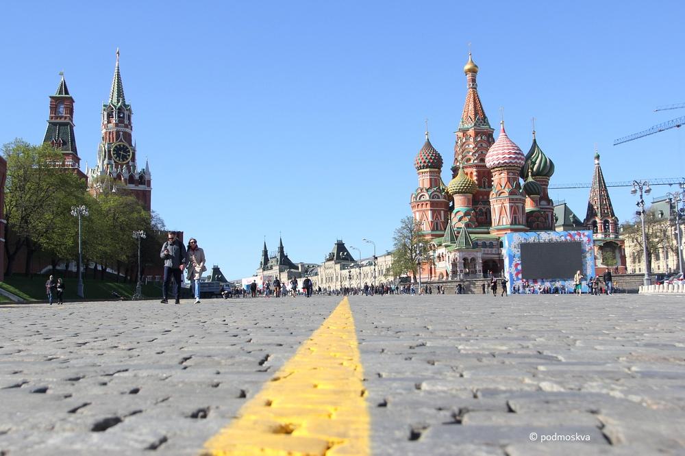 Воскресная прогулка по Москве