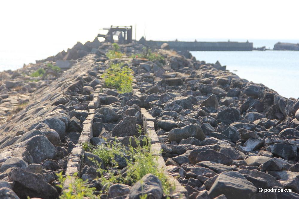 Бывшая секретная база заправки подводных лодок проекта А615