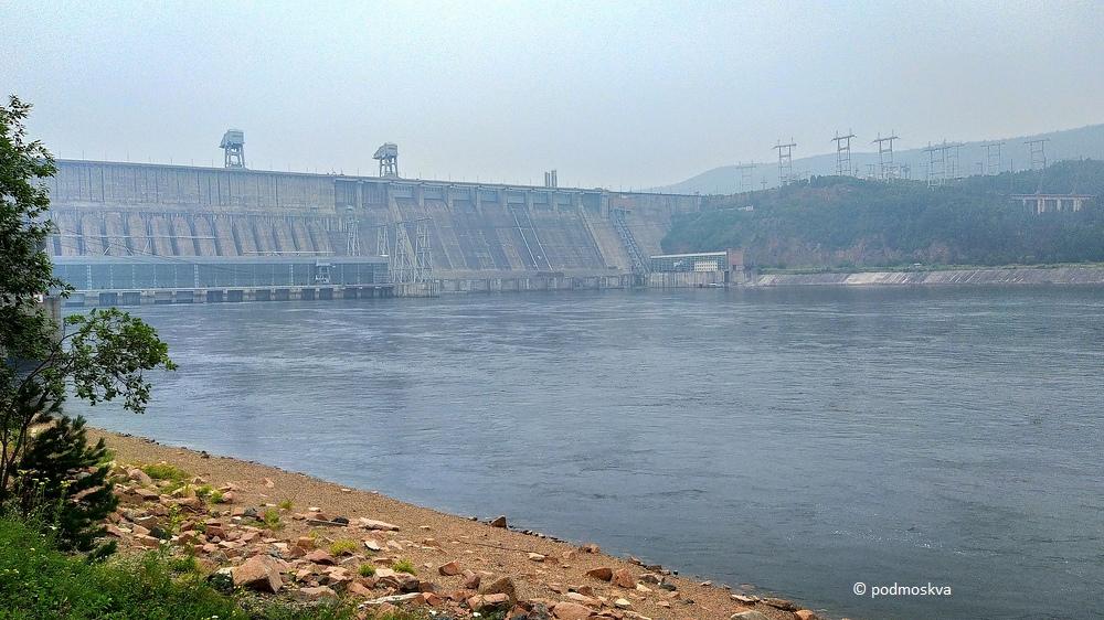 Красноярская ГЭС блог-тур,Красноярский край,Сибирь