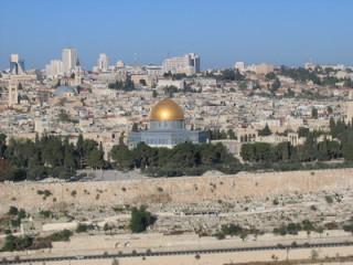 Вид на Иерусалим с Елеонской горы