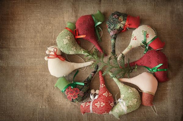 """Новогодние текстильные подарки своими руками """" Tib Wot"""