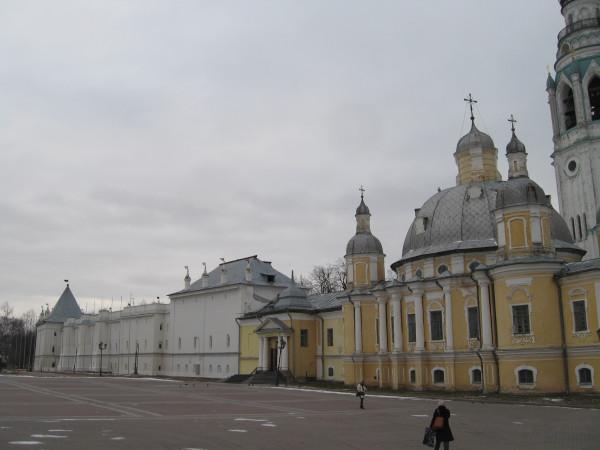 Крепость в Вологде - Вологодский Кремль (Архиерейский двор)