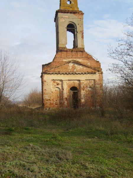 Митрофановский храм с. Шилово, конец 2000-х годов.