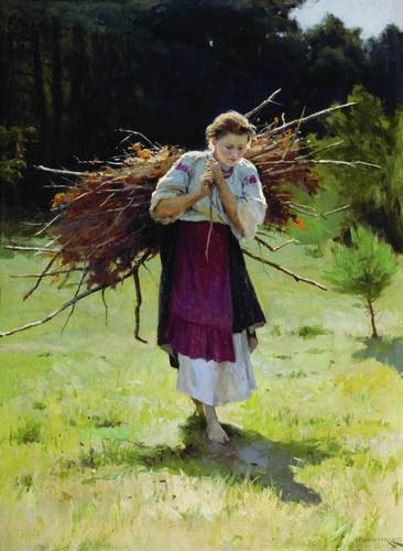Пимоненко_Из-лесу_1900