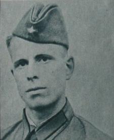 Заместитель политрука Яковлев Т.В., раненый в бою с японцами