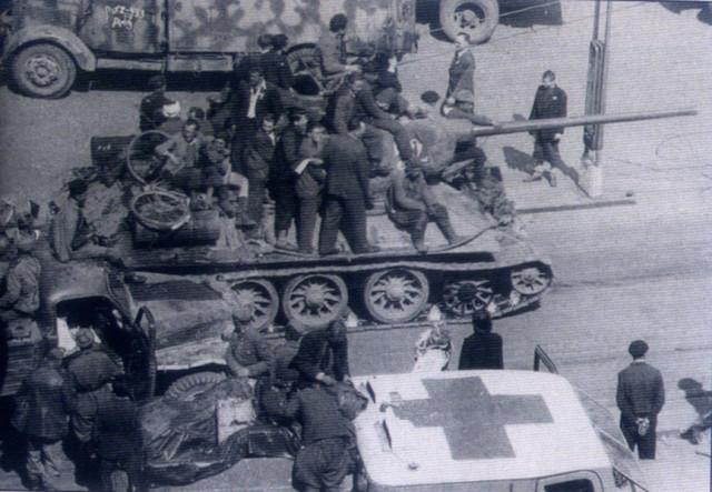 Танк 61-ой гв. т. бр. 10-го гв. УДТК 4-ой гв.танковой армии