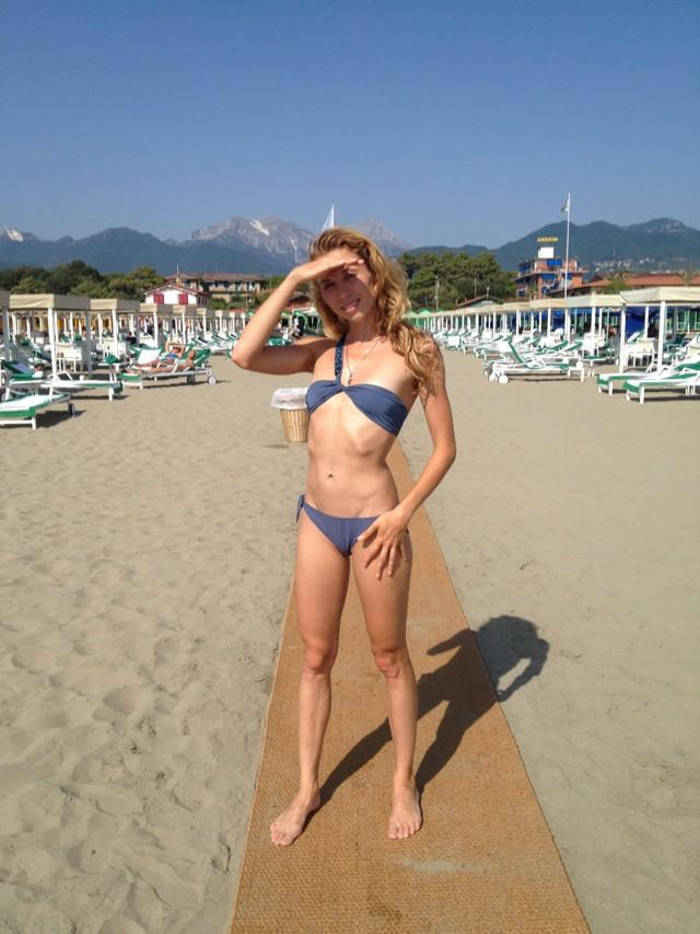 мамочки на пляже