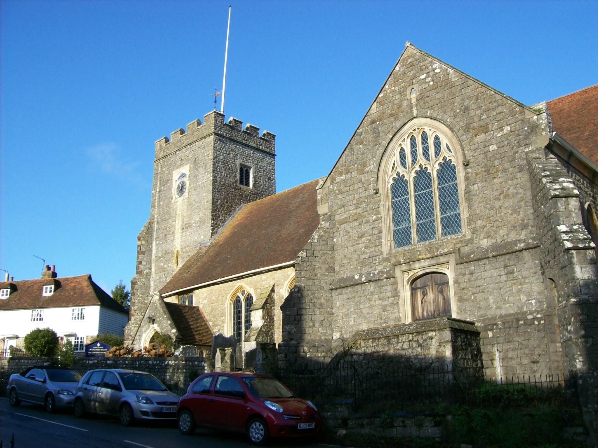 Plaxtol Parish Church, Kent