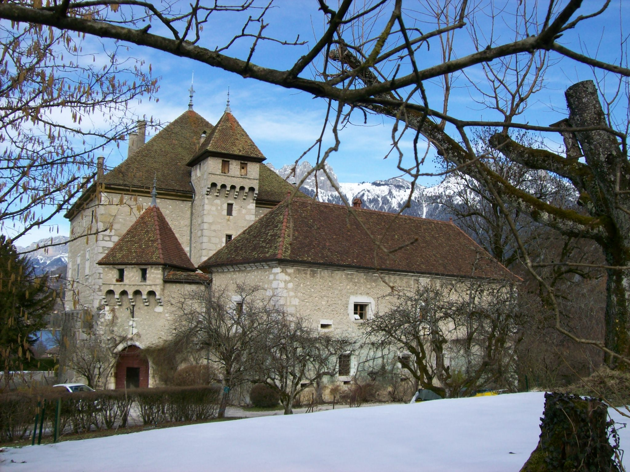 Chateau du Dhere