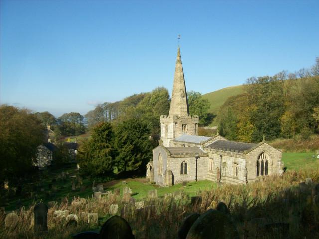 St. John the Baptist, Chelmorton, Derbyshire