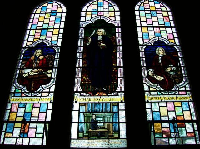 Church Musicians Window, King's Heath, Birmingham